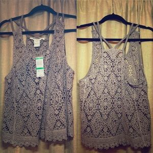 American Rag Crotchet Tank *WITH TAGS*
